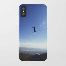 Highlining California iPhone Case