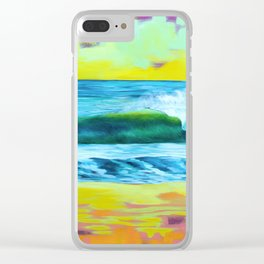 La Ola 1.0 Clear iPhone Case