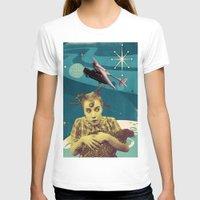 chicken T-shirts featuring Chicken by Julia Lillard Art
