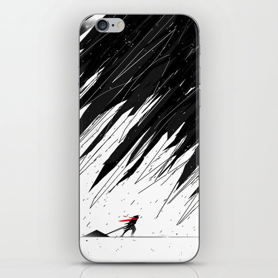 Geometric Storm iPhone & iPod Skin
