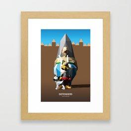 Defenders Framed Art Print