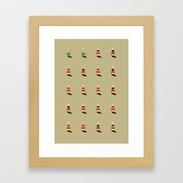 Sensible Man Utd Framed Art Print