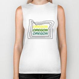 Oregon Three Ways Biker Tank