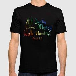 bible art T-shirt