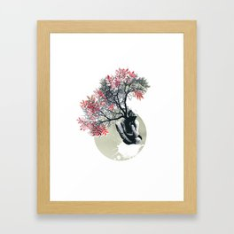 Milky weed Framed Art Print