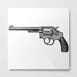 Revolver 2 Metal Print