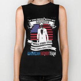 t shirt print Biker Tank