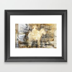 X brand Framed Art Print