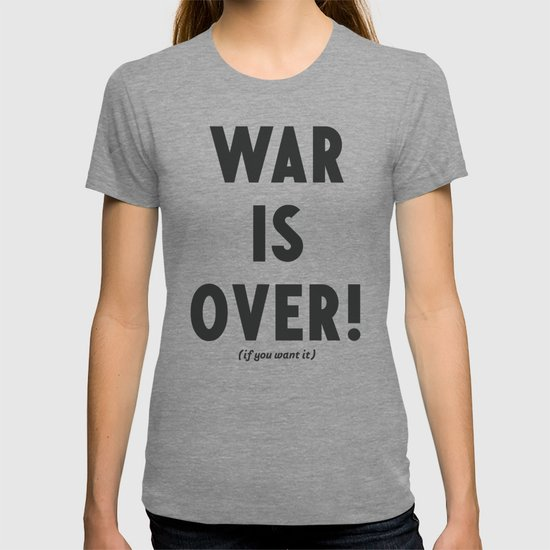 War is over, if you want it, peace message, vintage illustration, anti-war, Happy Xmas, song quote by stefanoreves