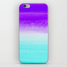 WHEN PURPLE MET BLUE iPhone & iPod Skin