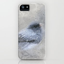 Dark Eyed Junco Bird iPhone Case