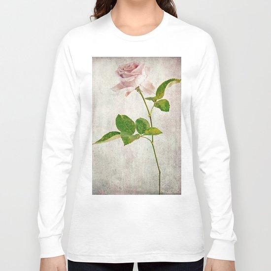 English Tea Rose  Long Sleeve T-shirt