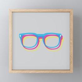 CMYgeeK Framed Mini Art Print