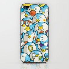 Penguin Crowd iPhone & iPod Skin