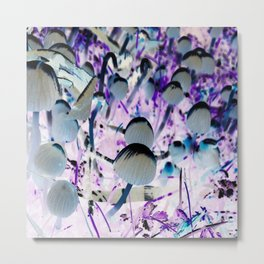 Mushroom Village 3 Metal Print
