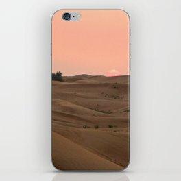 Arabian Desert Sunset iPhone Skin