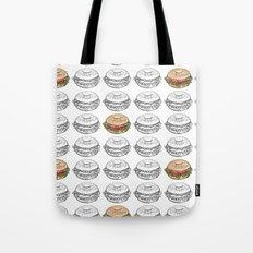 Bagel Sandwich Tote Bag