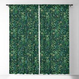 Magic herbs Blackout Curtain