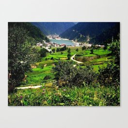 long lake Canvas Print
