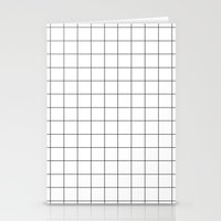 grid Stationery Cards featuring grid by 550am