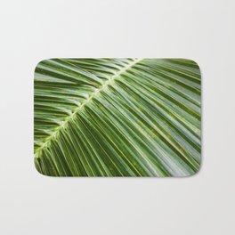 Botanical Palm Leaf Bath Mat