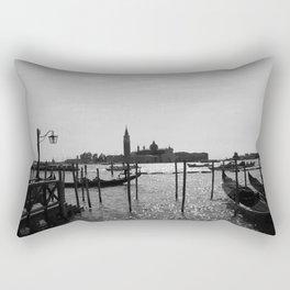 Venice Silhouette Rectangular Pillow