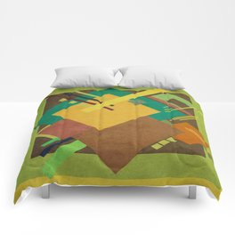 Geometric illustration 18 Comforters