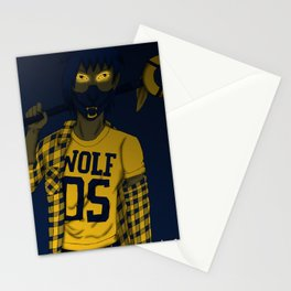 Wolf 05 Stationery Cards