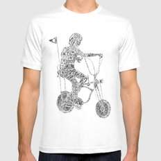 A boy's thing Mens Fitted Tee MEDIUM White