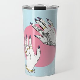 Hands #1 Travel Mug