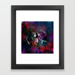 Radha Krishna- the divine Framed Art Print