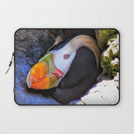 Tufted Puffin Laptop Sleeve