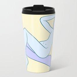 Faceless Metal Travel Mug