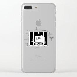 Esc Escape Clear iPhone Case
