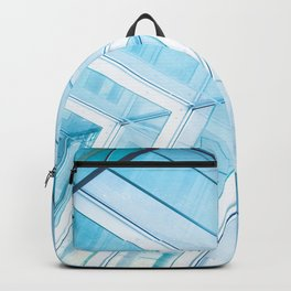 Glass Structure Backpack