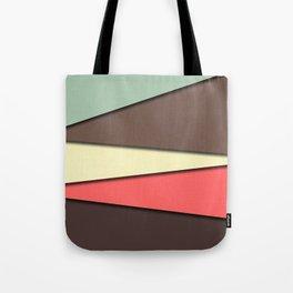 Abstract Vintage Tote Bag