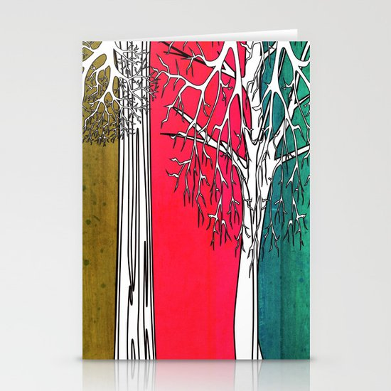 Color Forest Stationery Cards