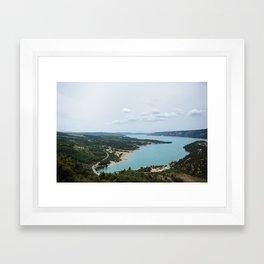 Gorge du Verdon Framed Art Print