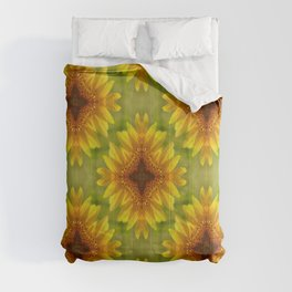 Delighted Sunflowers.... Comforters
