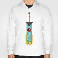 transistor Hoodies featuring The Transistor by Liam Ball