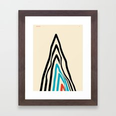 GOODBYE MOUNTAIN 2 — Matthew Korbel-Bowers Framed Art Print