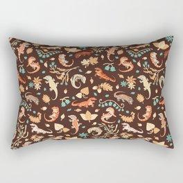 Autumn Geckos Rectangular Pillow