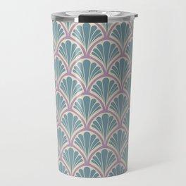 Vintage Art Deco Seashell - Sweet scent of lavender Travel Mug