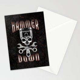 Hammer Down Stationery Cards