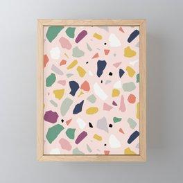 Big Terrazzo Framed Mini Art Print