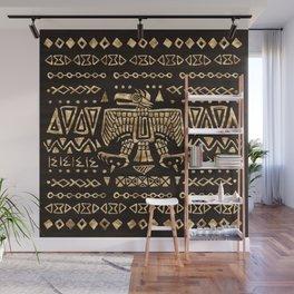 Aztec Golden Eagle Deity  Wall Mural