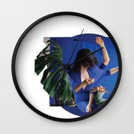 Janeiro Blue Wall Clock