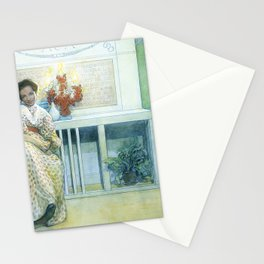 After The Prom - Carl Larsson Stationery Cards