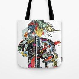 A Walking Man Tote Bag