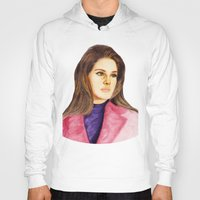 ultraviolence Hoodies featuring LANA II by Share_Shop